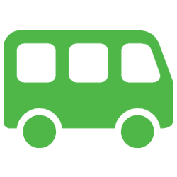 Bus Icon Green 2