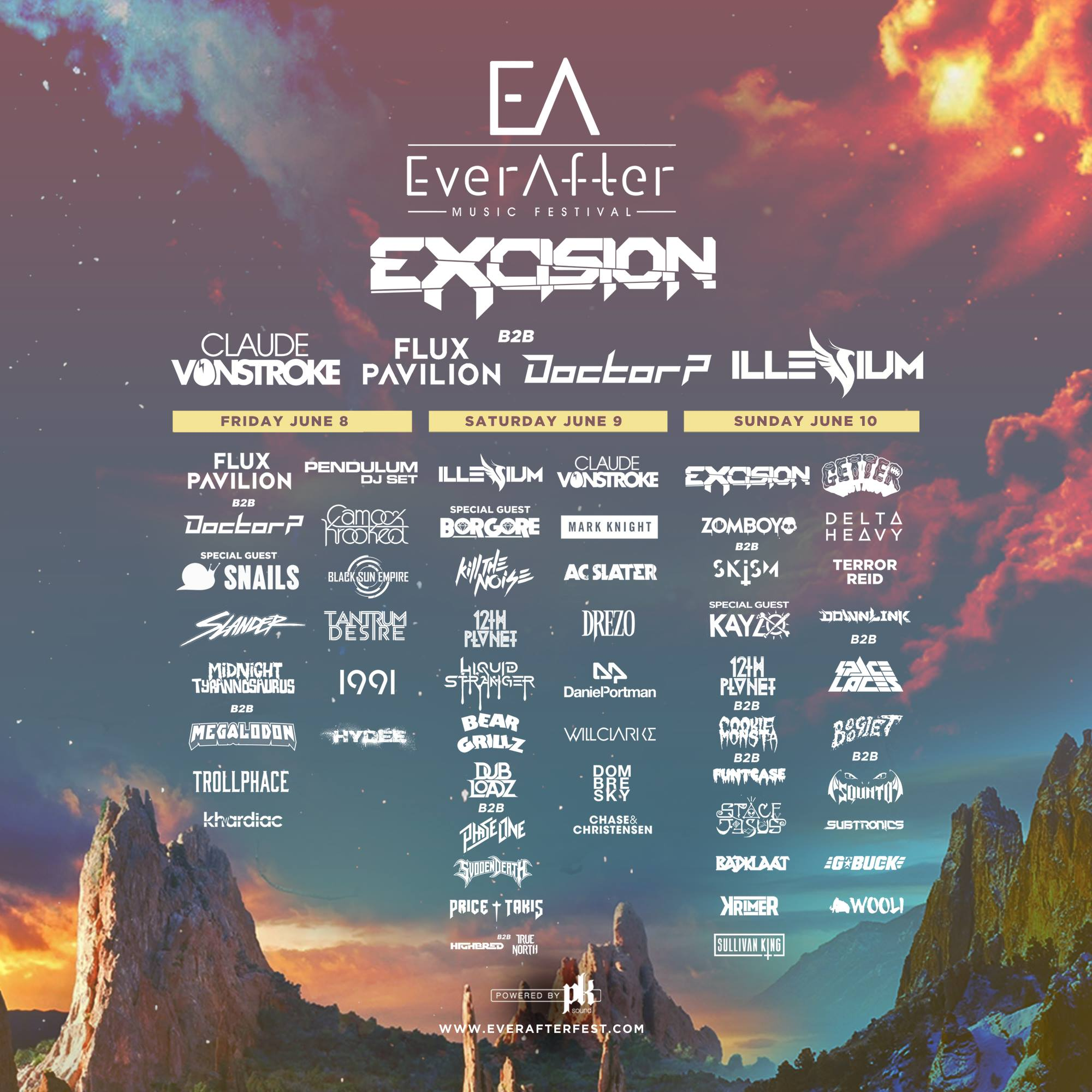 Ever After Music Festival | Unity Travel